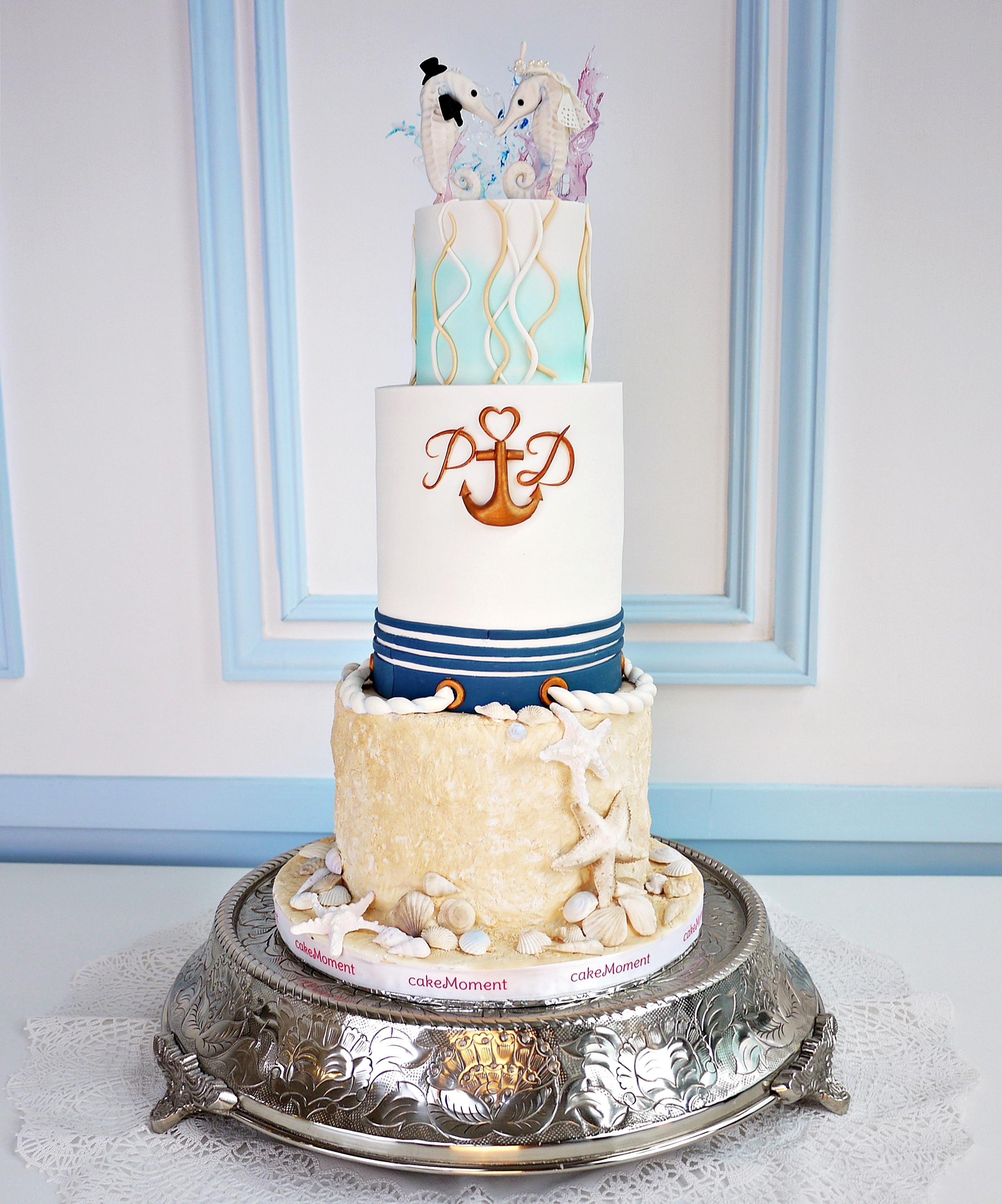 Nautical Summer Wedding