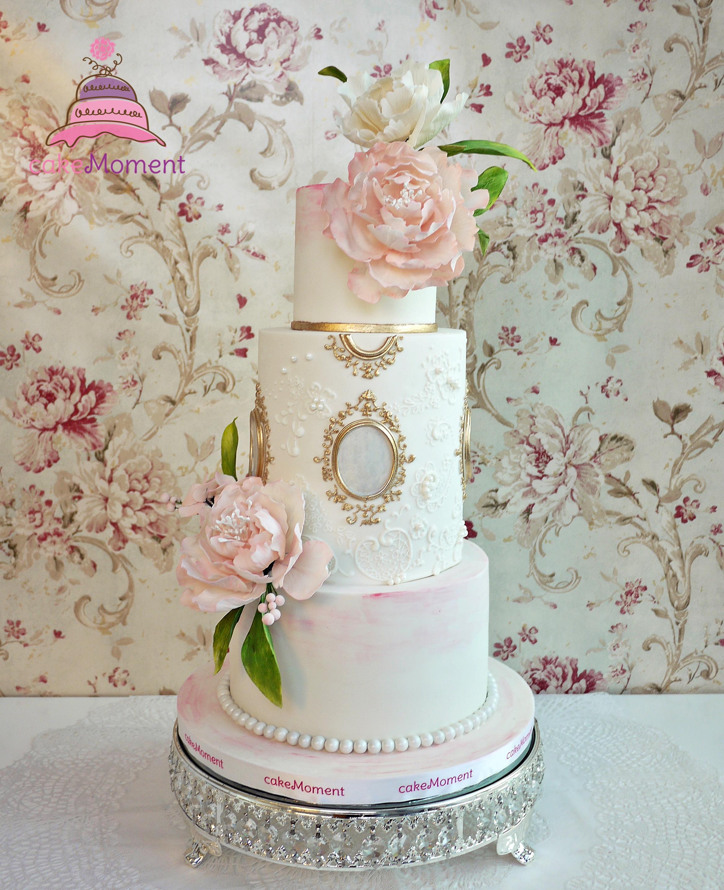 Victorian Pink & White Wedding