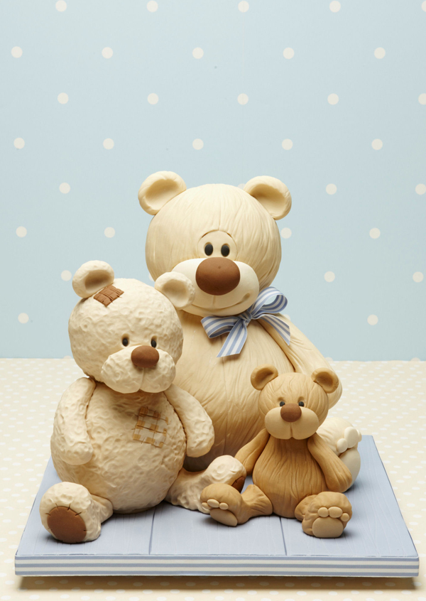 Sculpted Teddy Bears