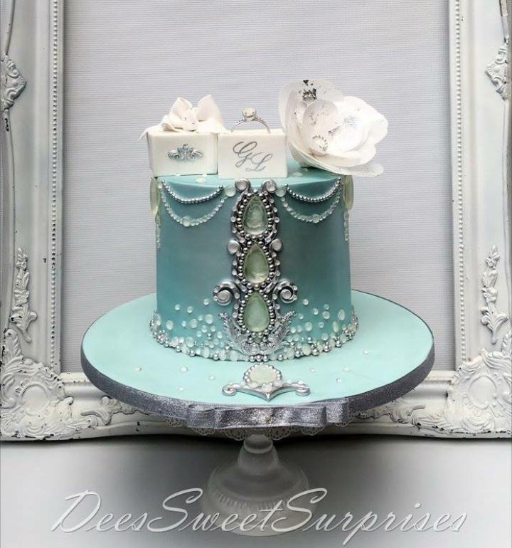 victorian turquoise mini wedding