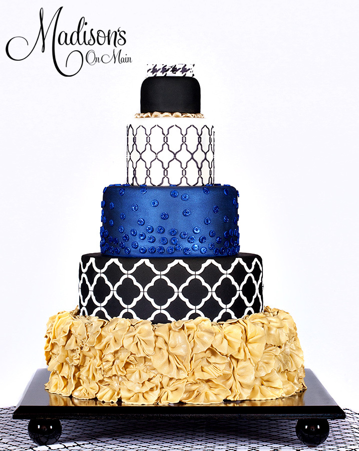 Blue & Gold Wedding