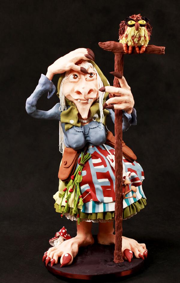 Sculpted Lady Troll