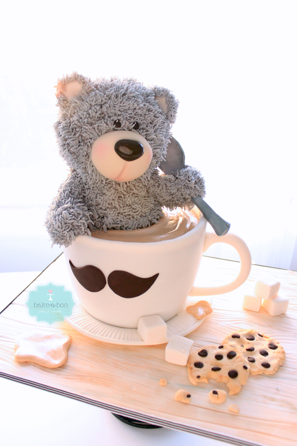 Teddy Bear with Cocoa