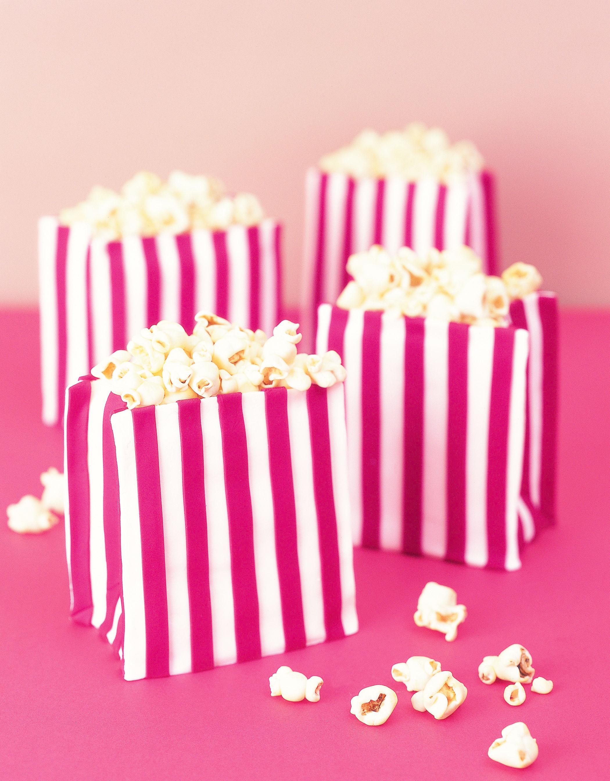 Gum Paste Popcorn