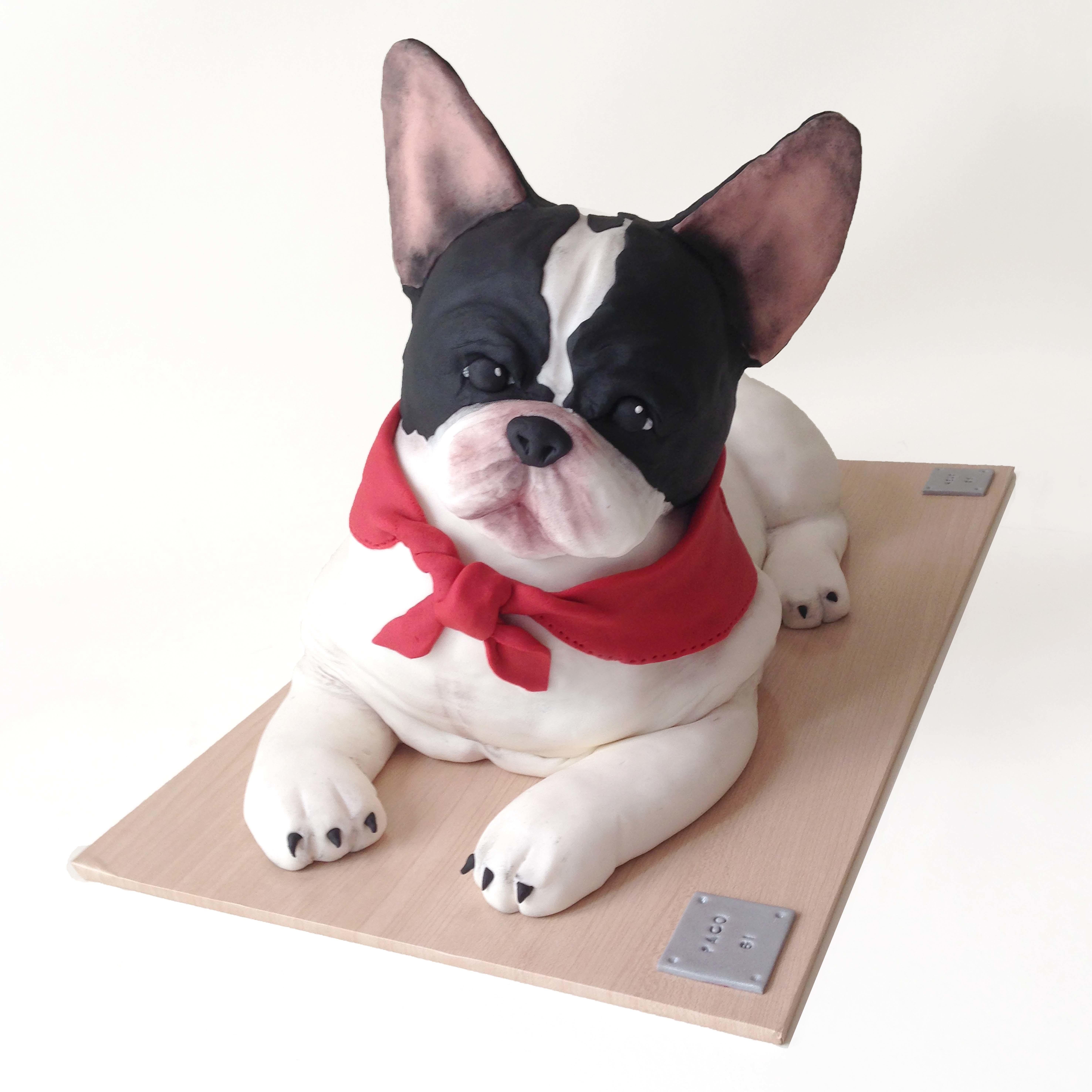 Sculpted Pug Dog