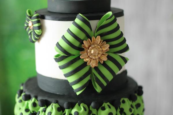Bright Green & Black