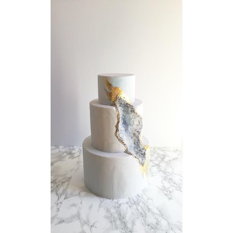 White Rock Geode wedding