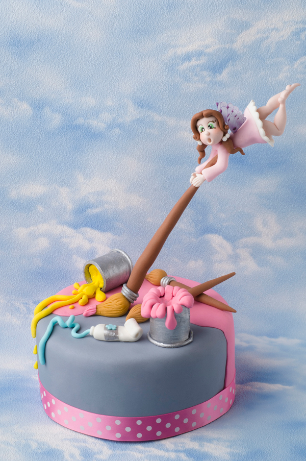 Gravity Defying Fairy Cake