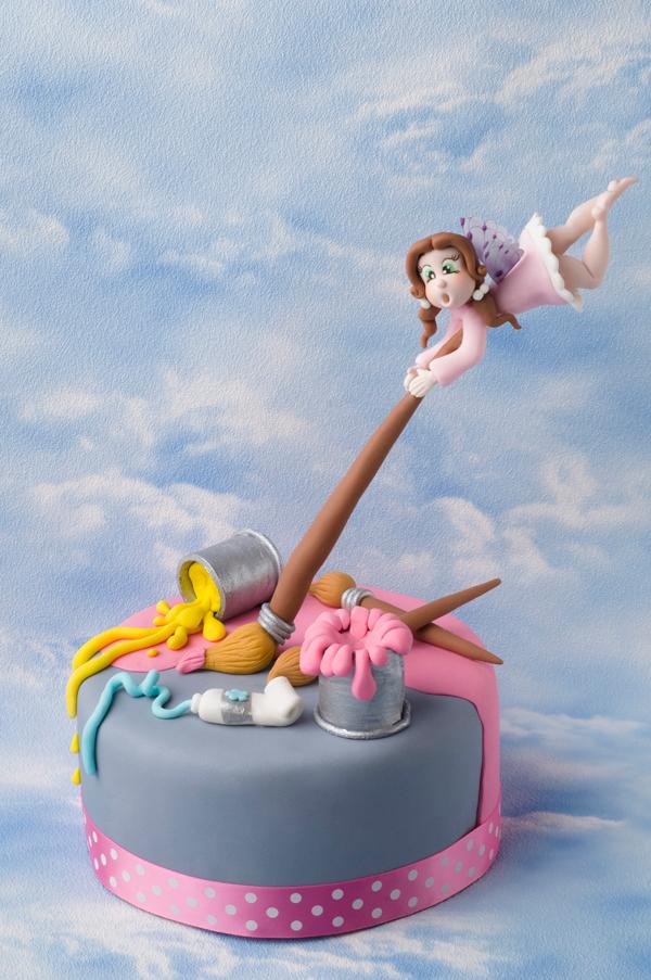 Gravity Defying Fairy Cake