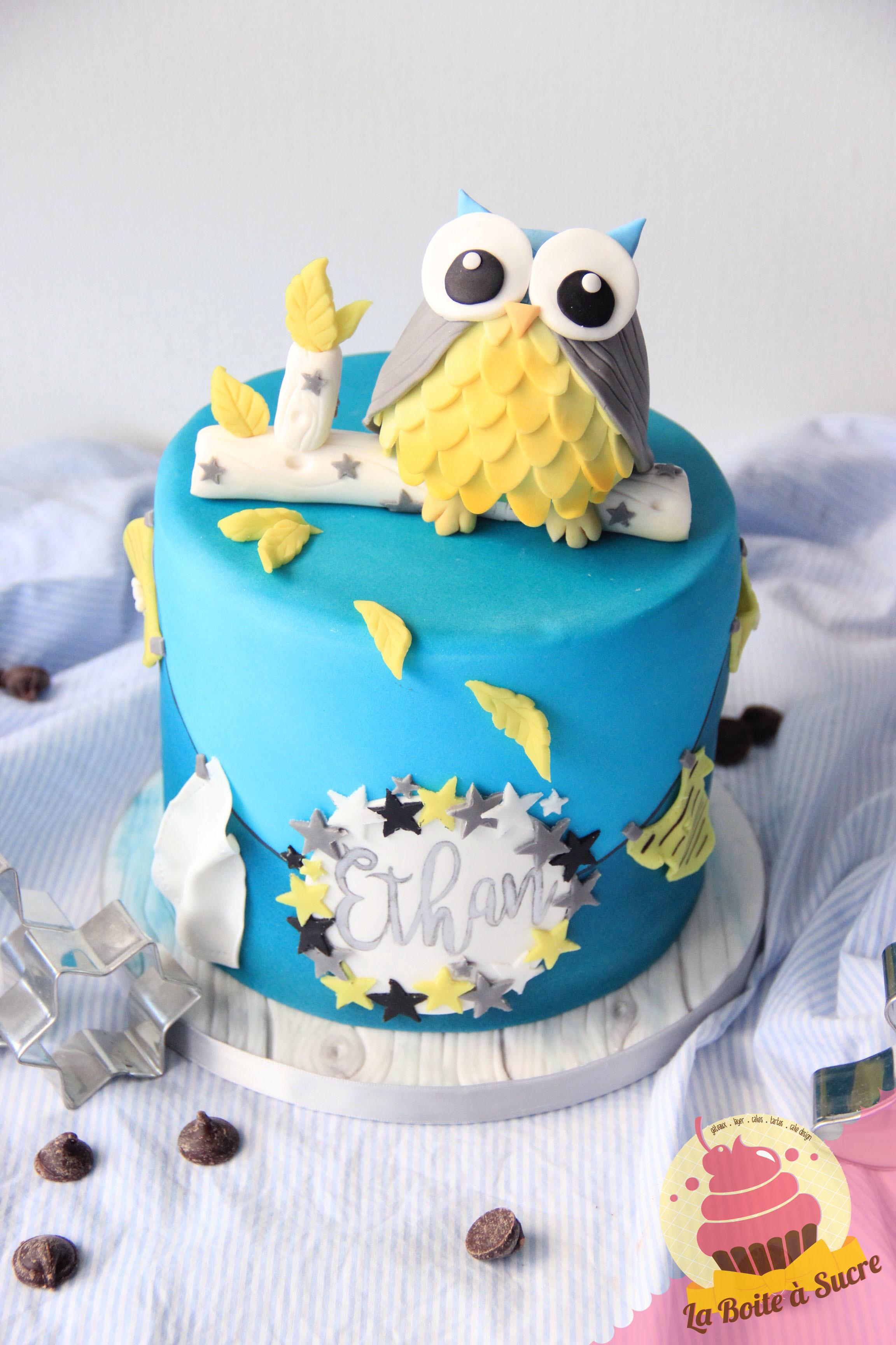 Woodland Owl Birthday