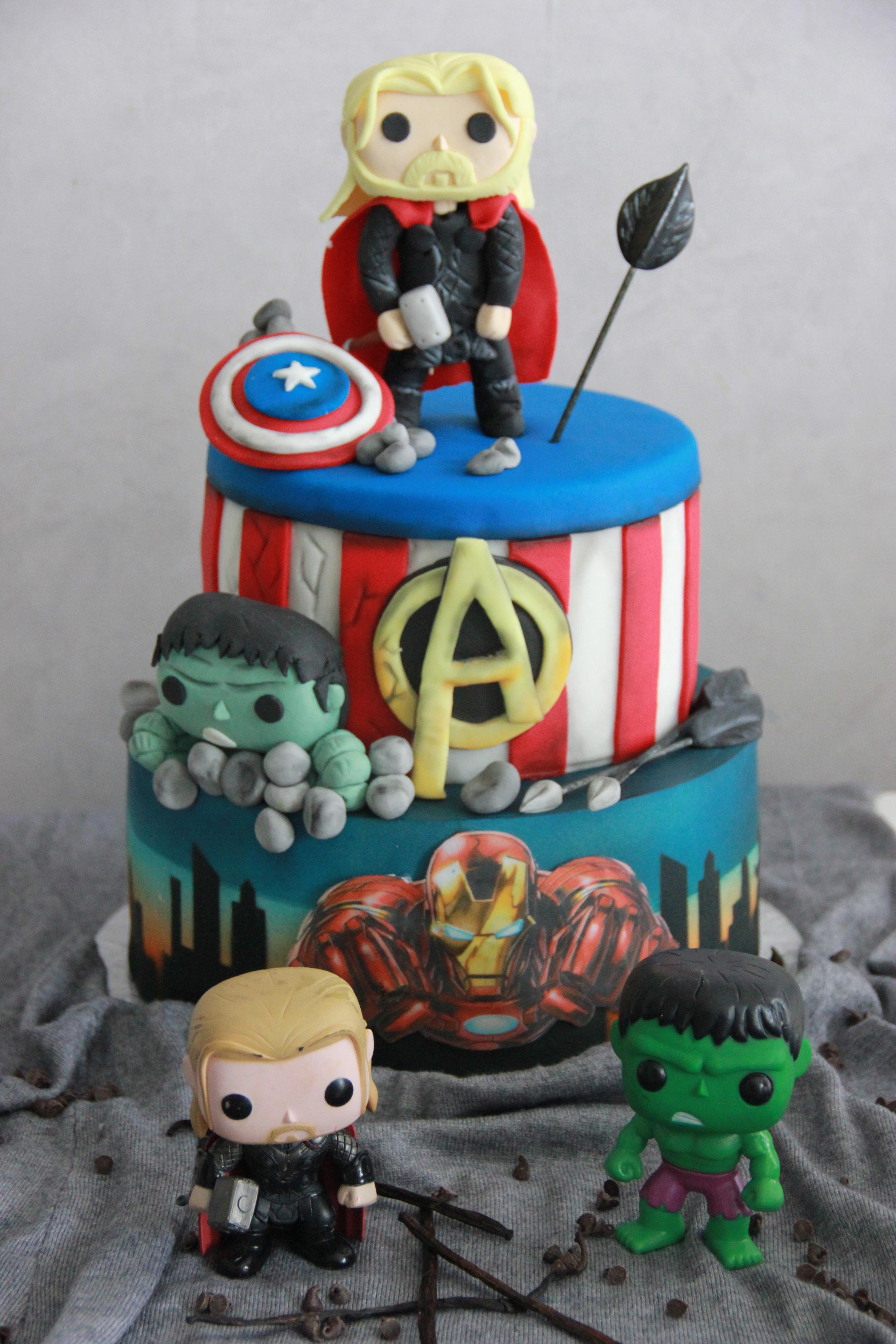Avengers Superhero Birthday