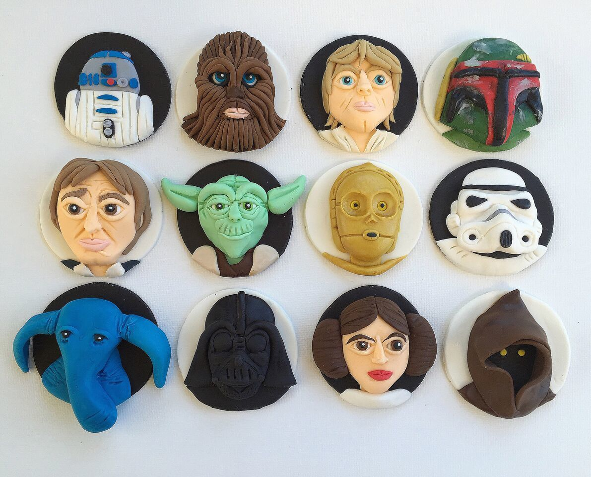 Star Wars Cupcake Toppers