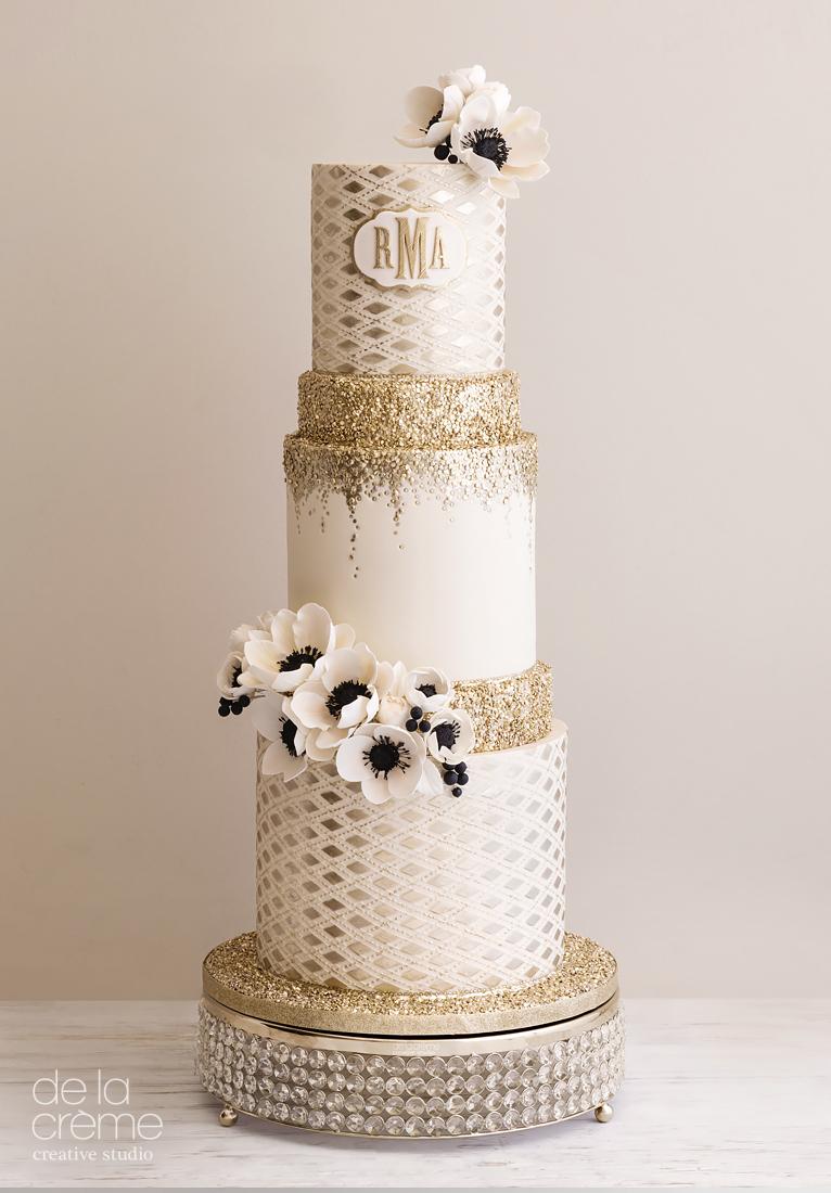 Gold & Ivory sparkle wedding