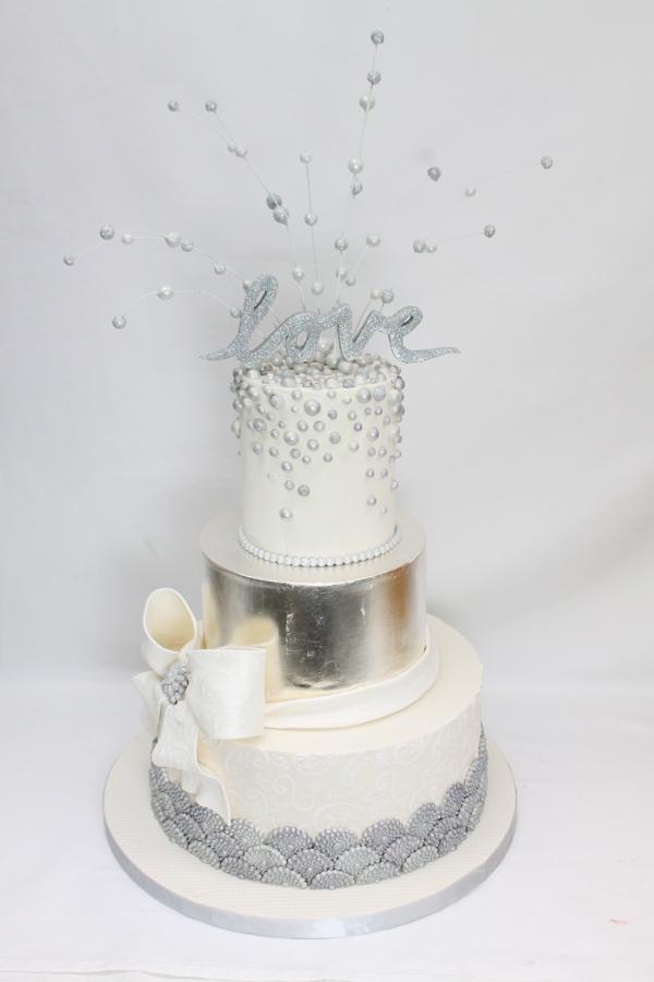 Silver Sparkle Wedding