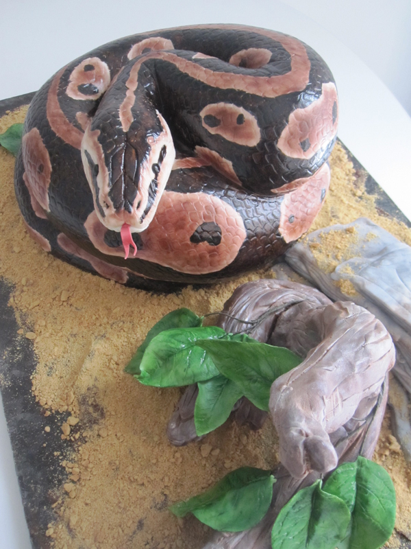 Sculpted Snake