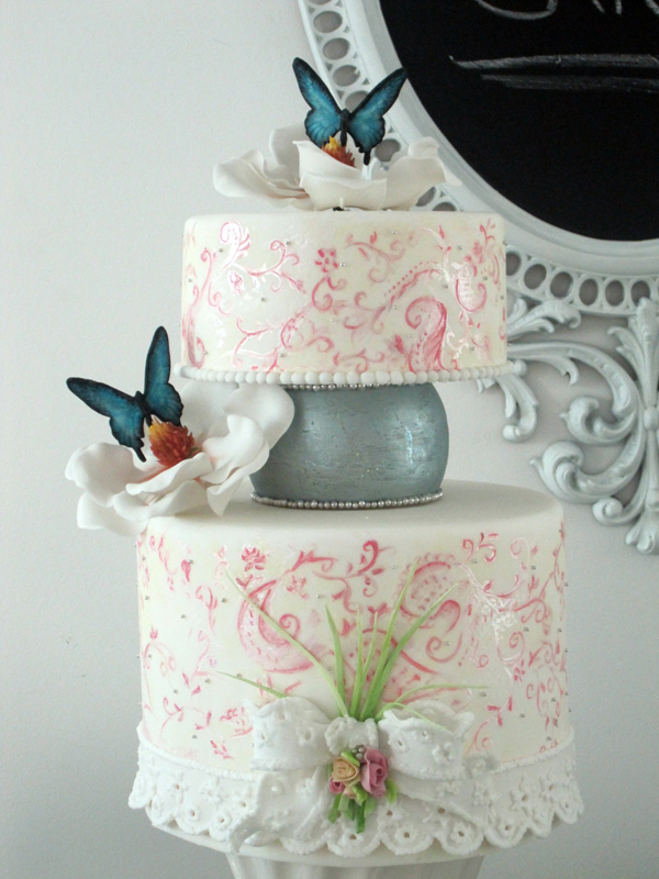 Butterfly Painted Wedding