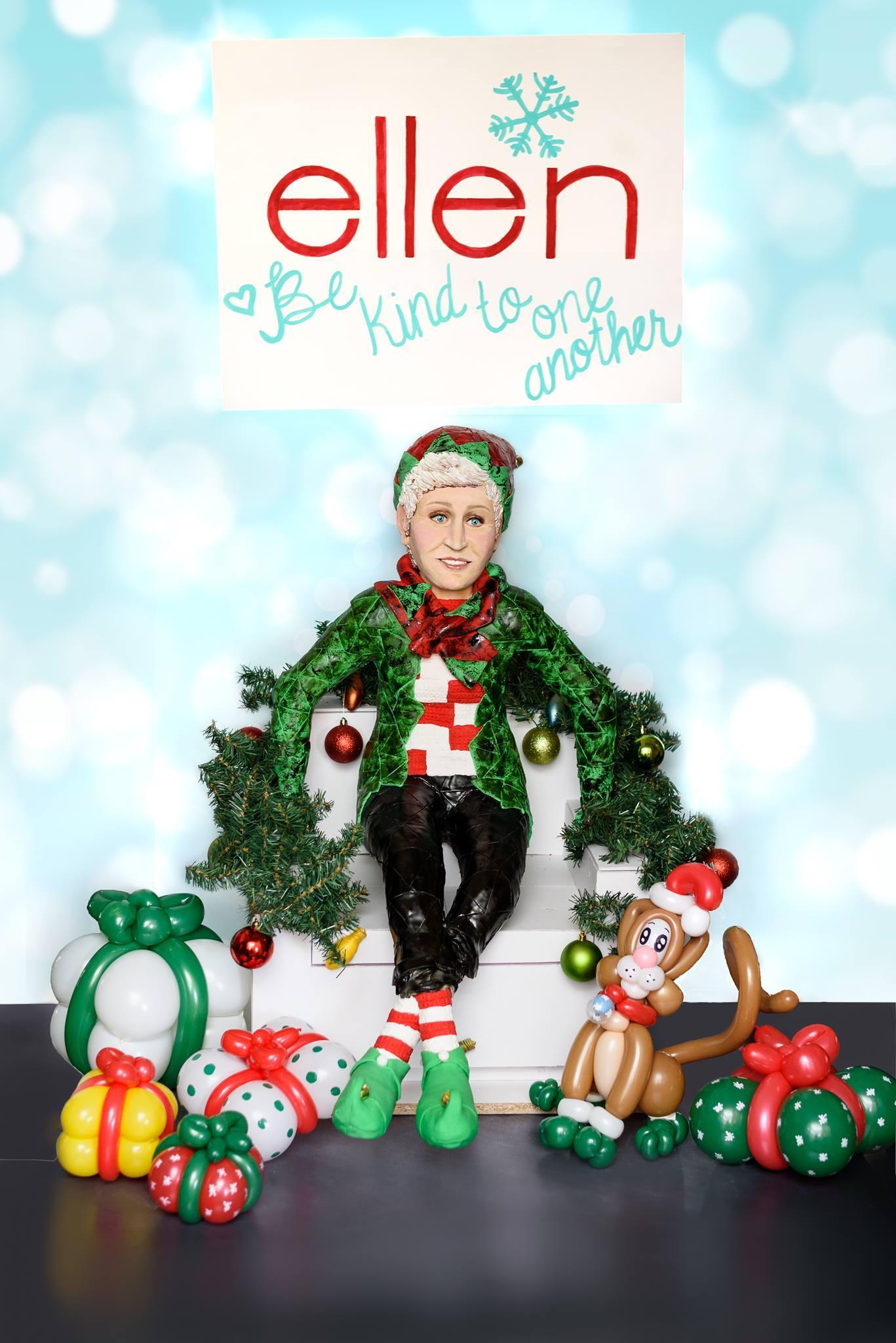 Christmas Ellen Degeneres