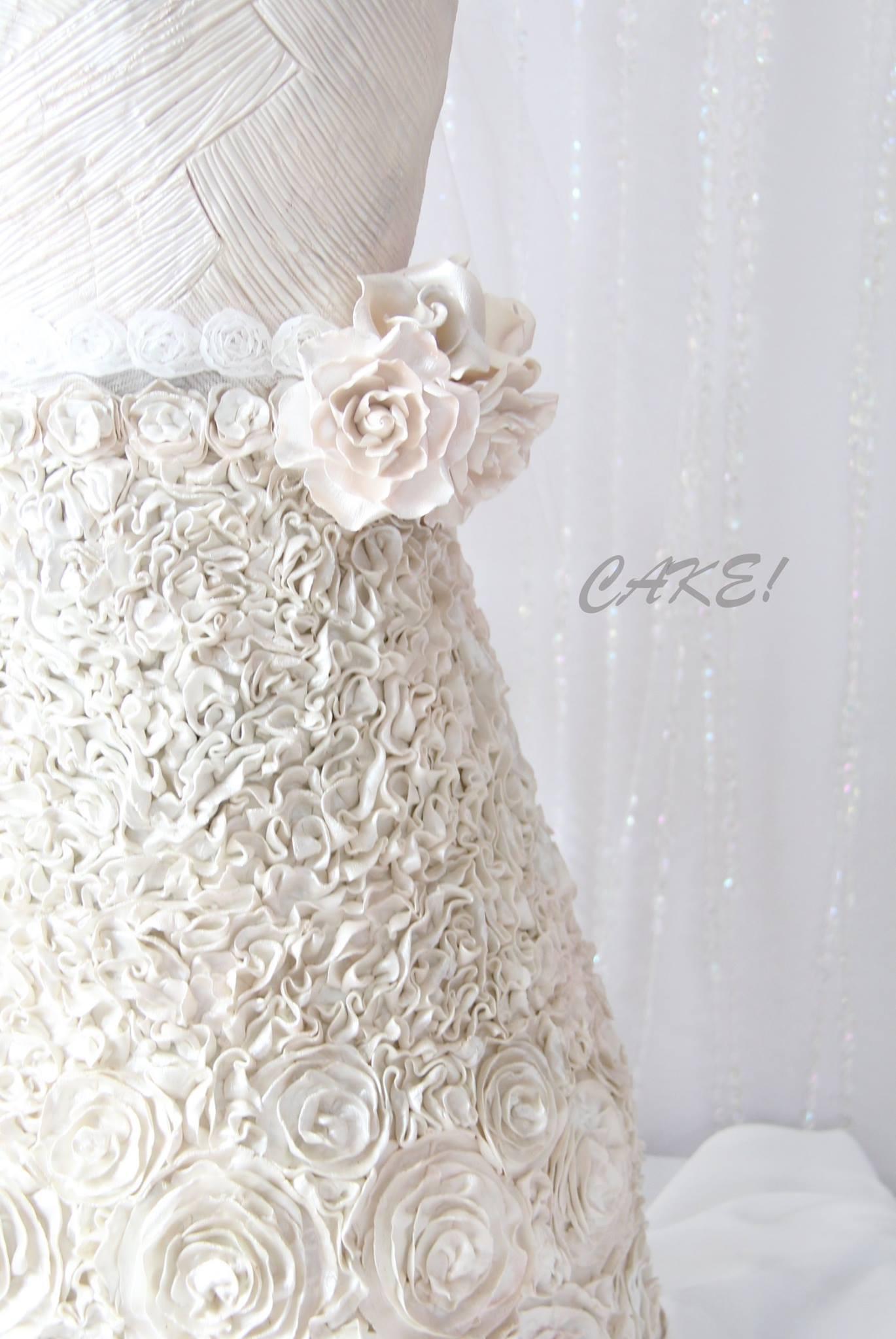 Sculpted Wedding Dress
