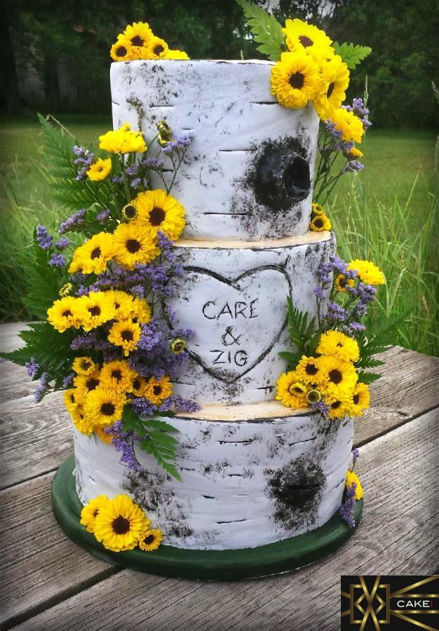 Bark & Sunflowers