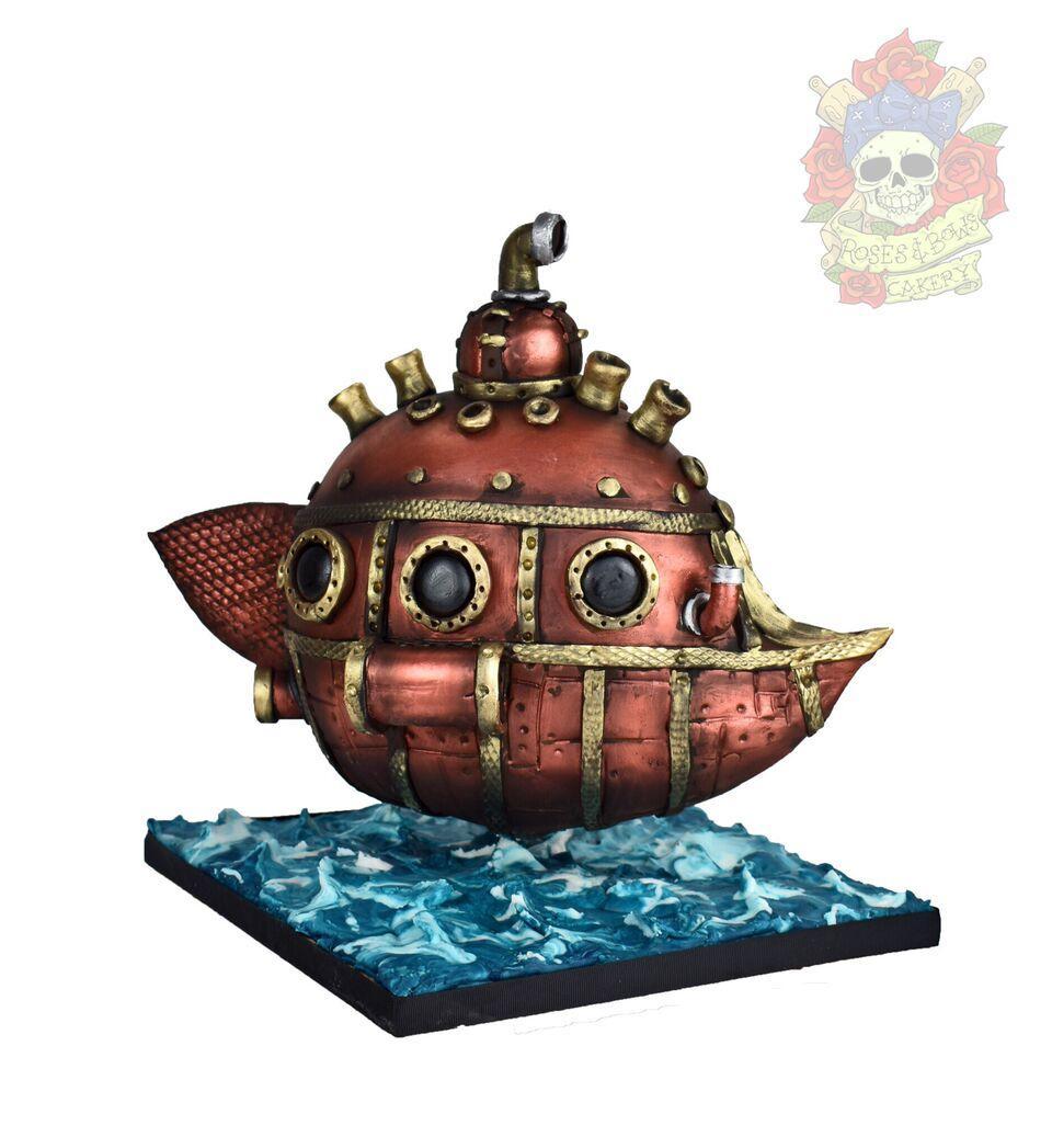 Steampunk Submarine