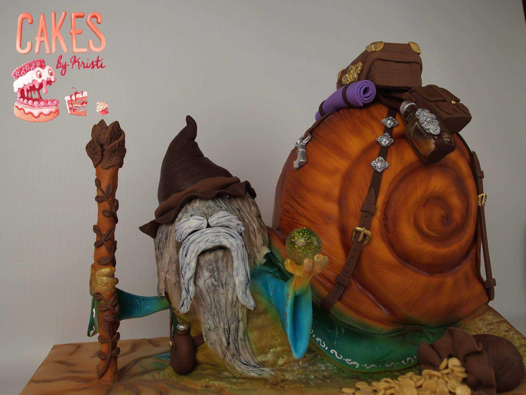 Mythical troll snail