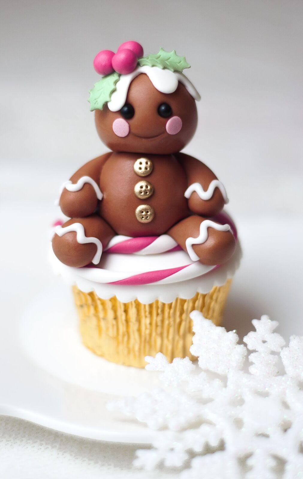 Gingerbread Cupcake Topper
