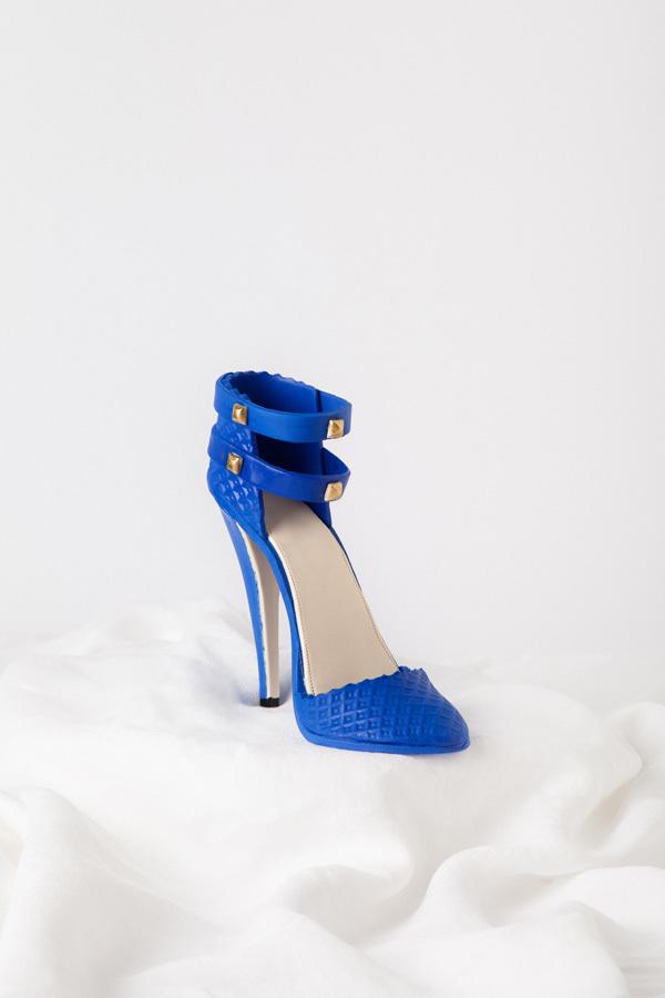 Blue High Heel