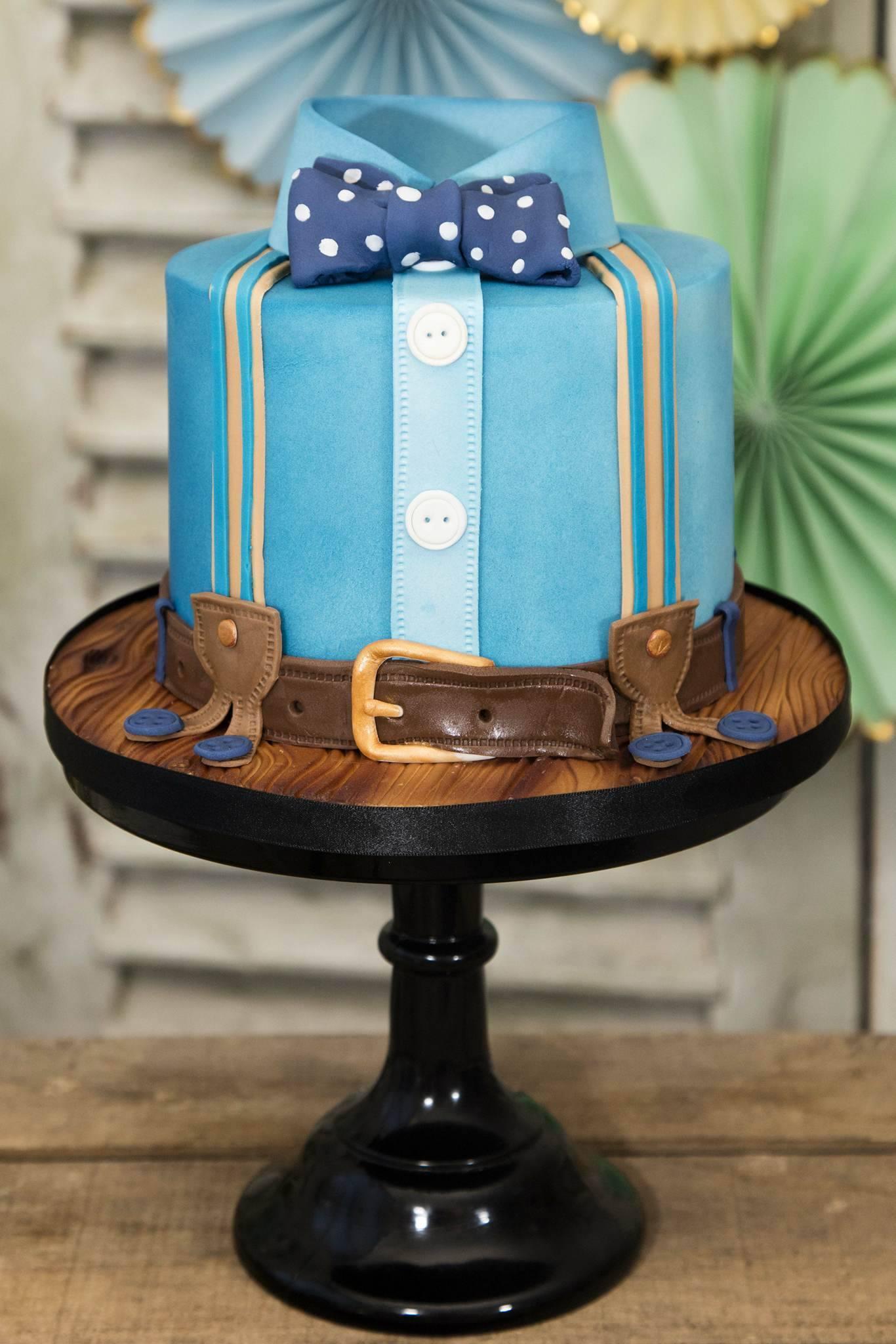 Men's Bow tie cake