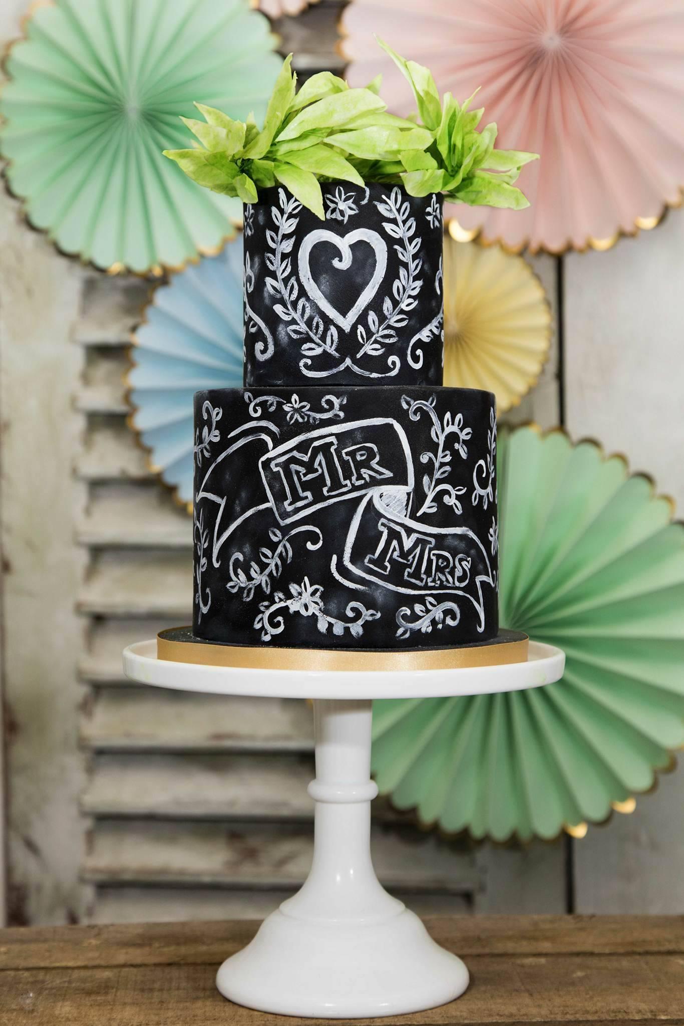 Chalkboard wedding