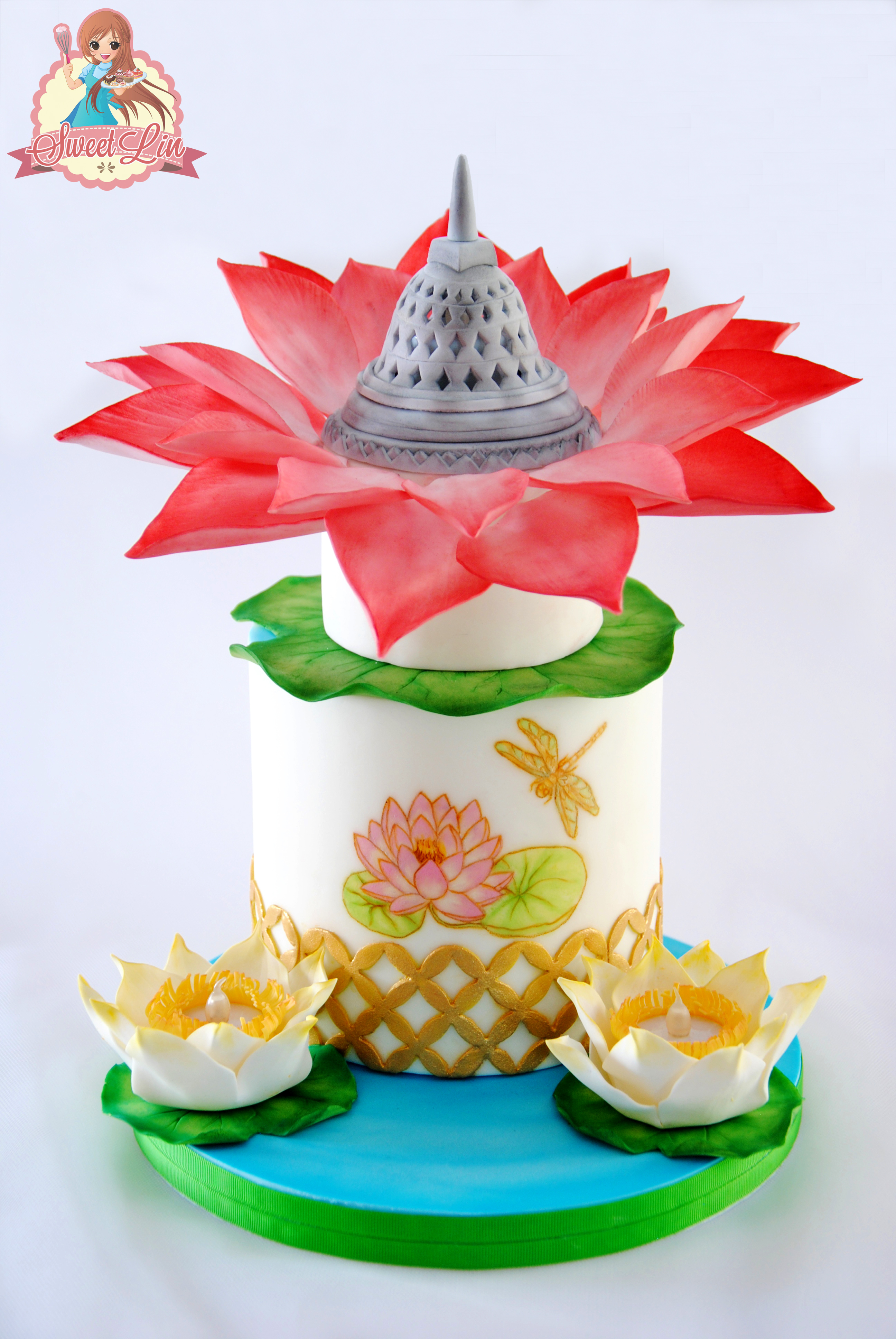 Chinese Flower Cake