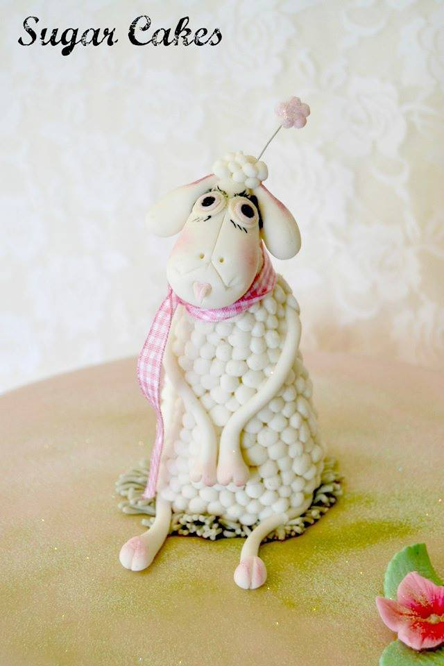 Baby Lamb Figurine
