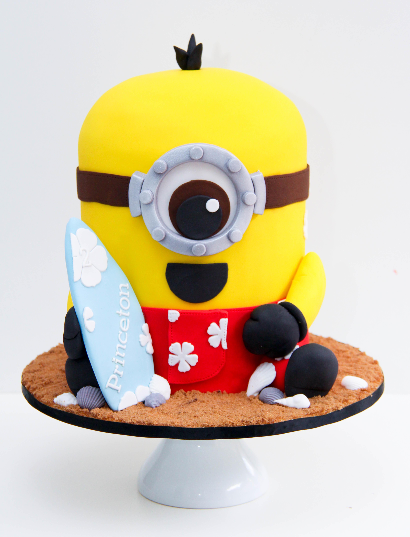 Minion Surfer Birthday