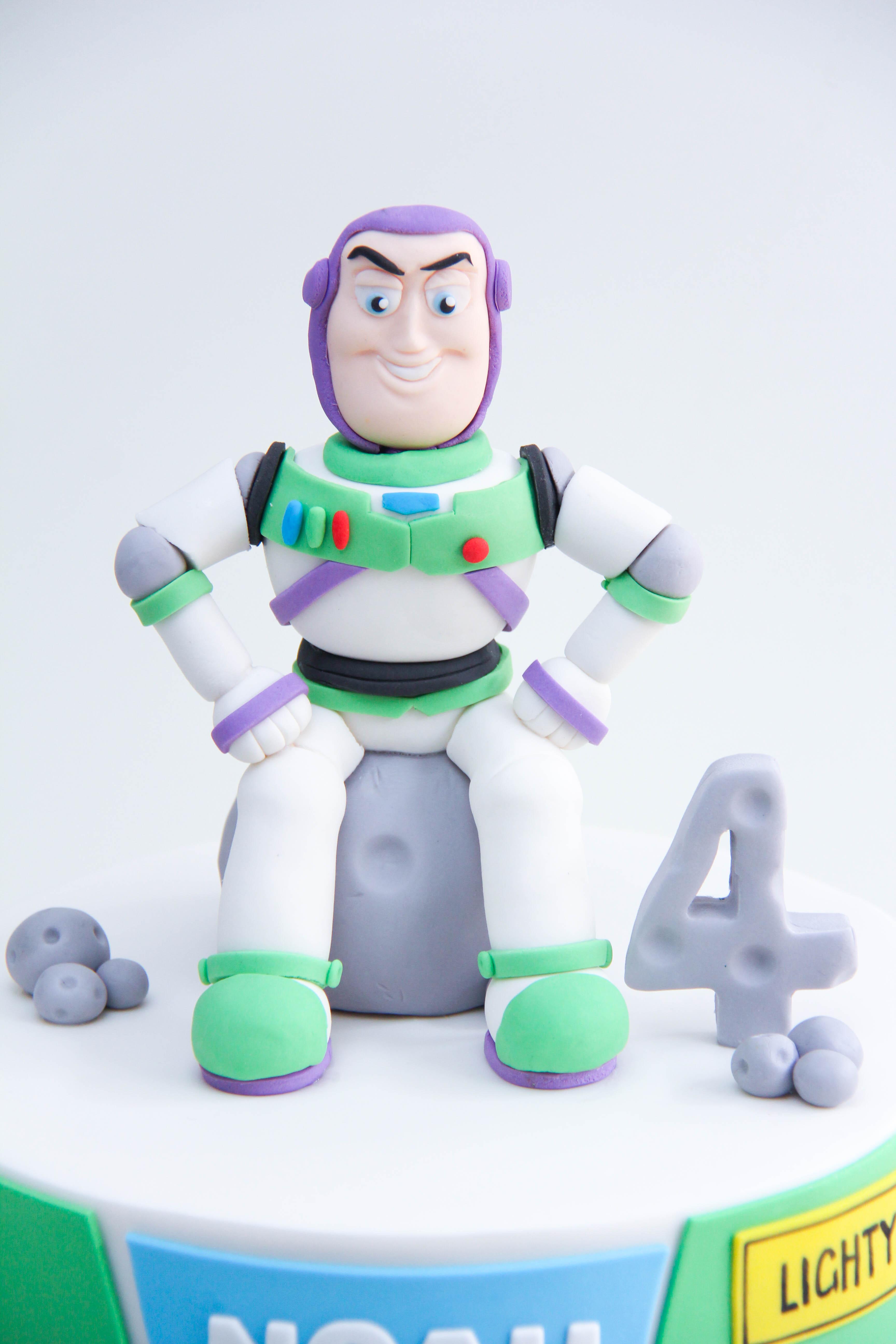 Fondant Buzz lightyear