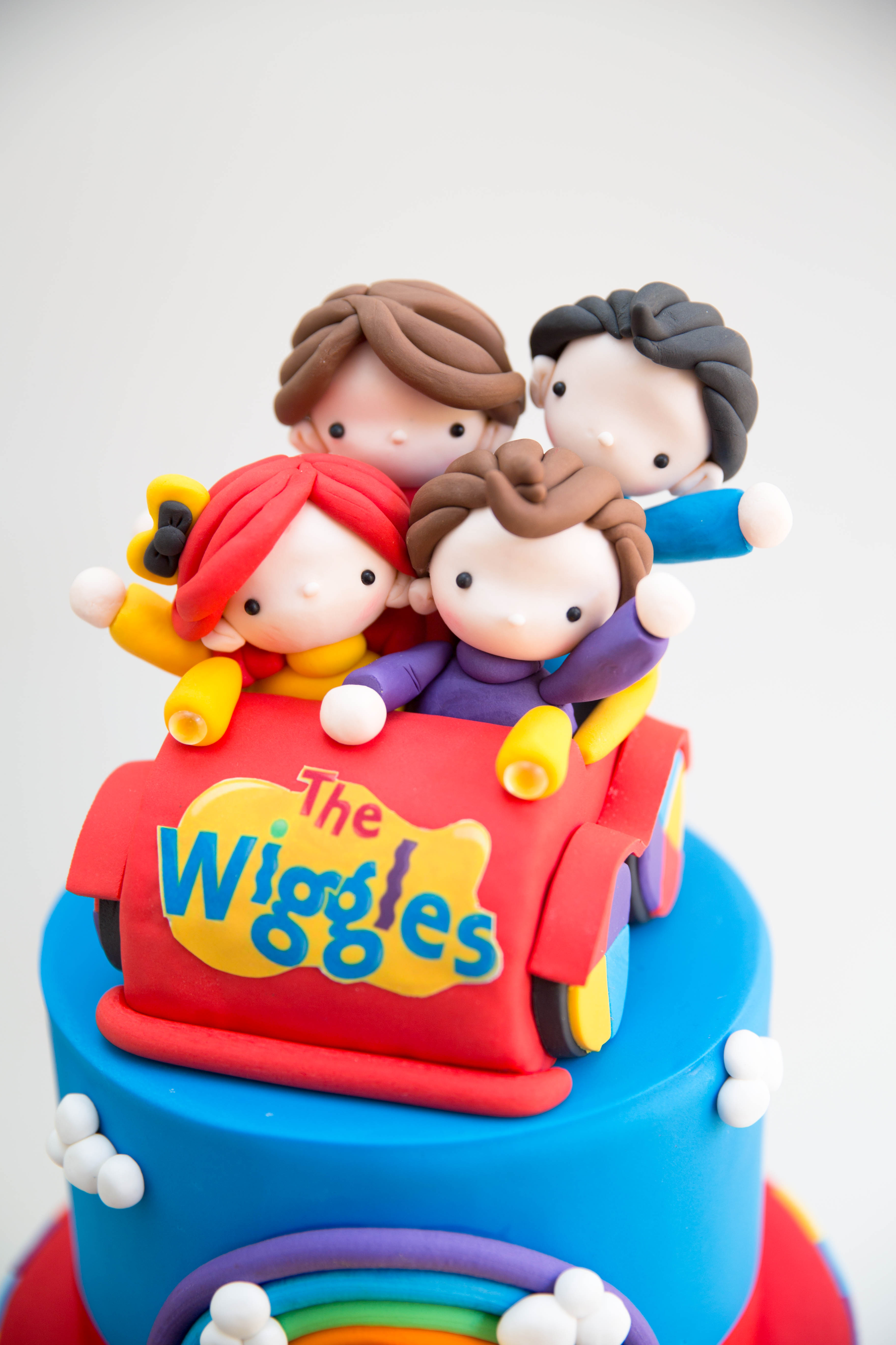 The wiggles themed birthday
