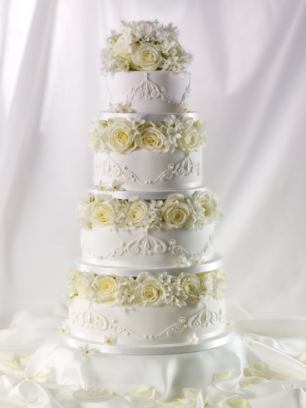Tall Elegant Wedding