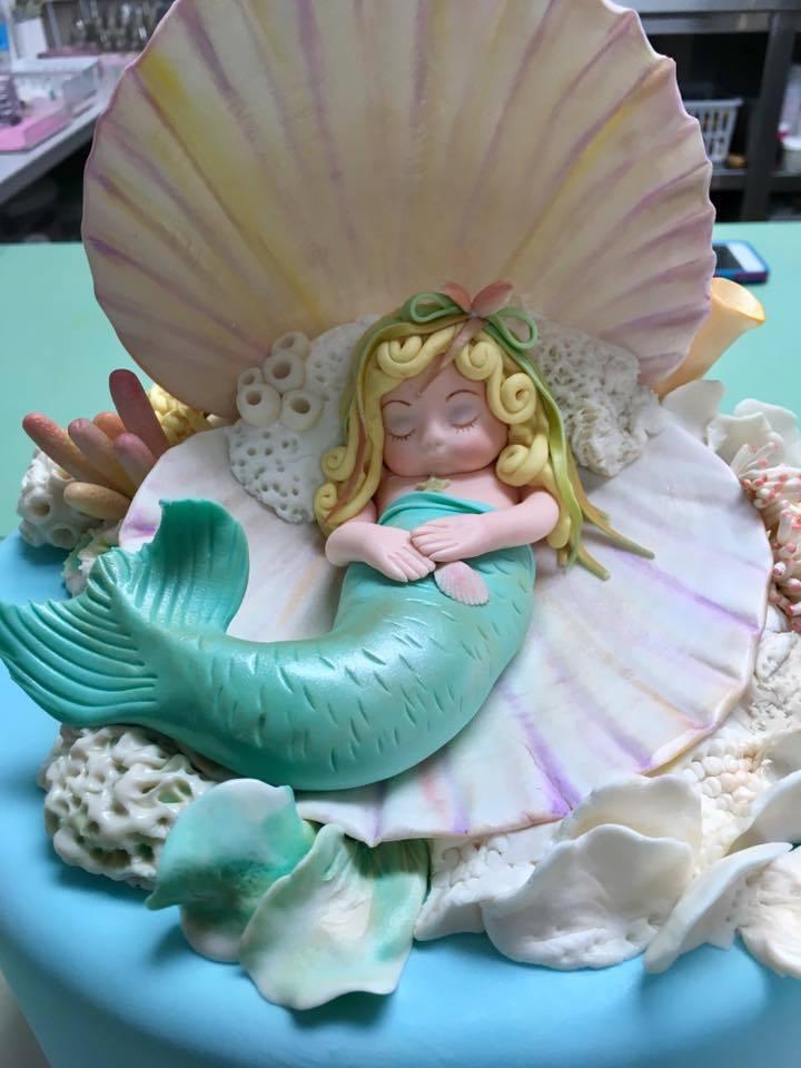 Baby Mermaid Figurine