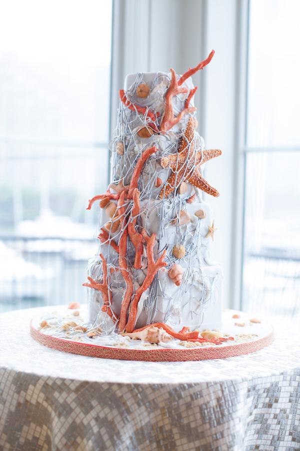 Ocean Coral Wedding