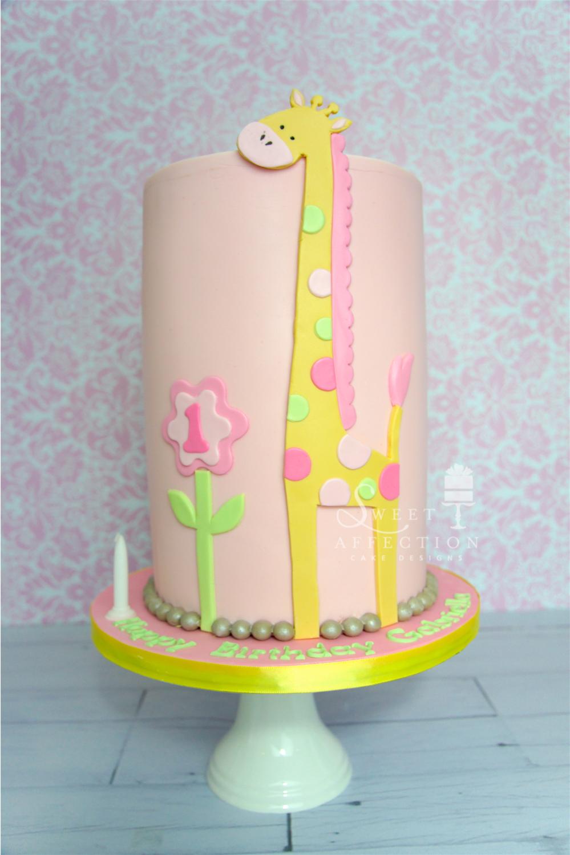 Pink Giraffe Birthday
