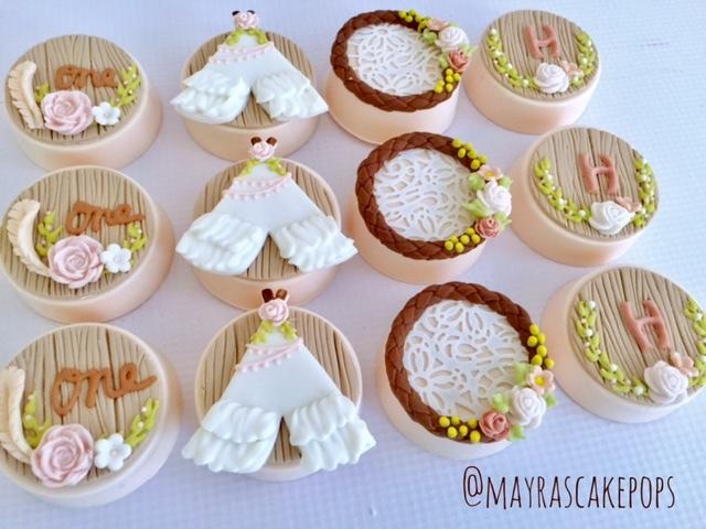 Boho and dreamcatcher Cupcakes