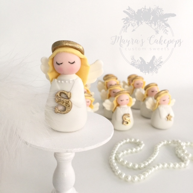 Gum Paste Christmas Angels