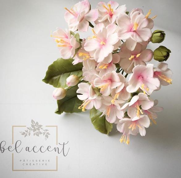 Light pink sugar flower bouquet
