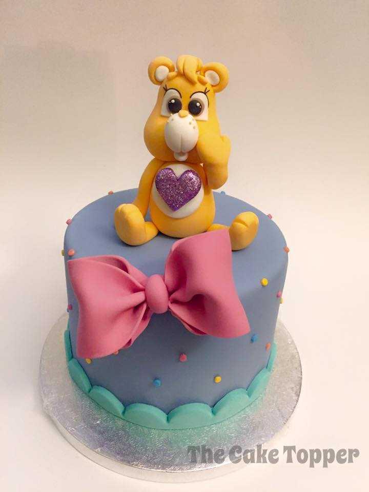 Purple Care Bear Birthday