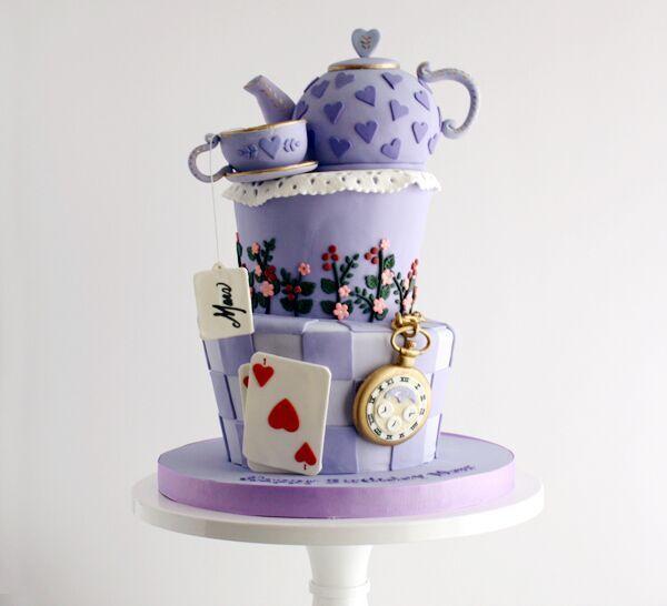 Topsy Turvy Alice in Wonderland Birthday