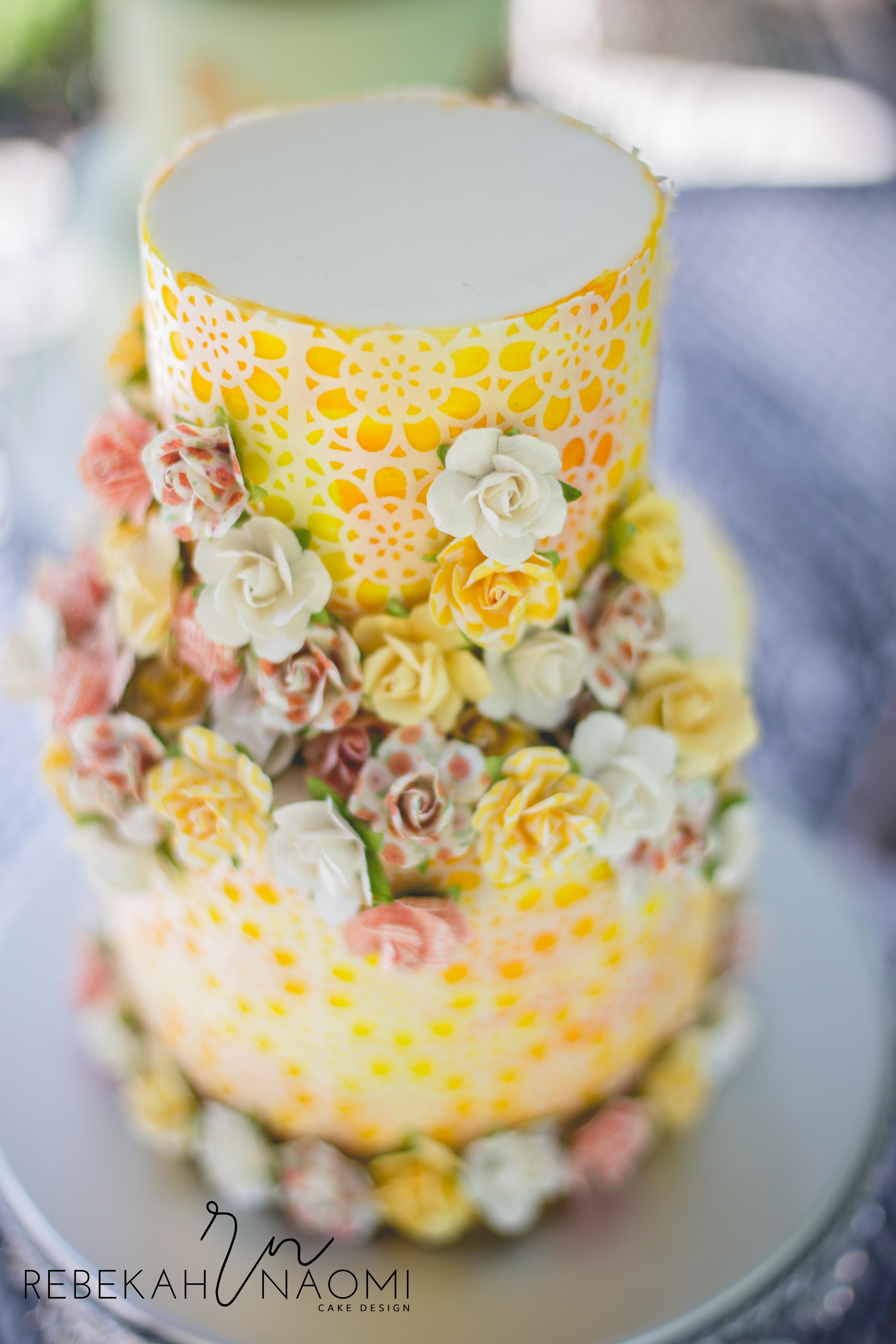 Yellow Wedding - Satin Ice