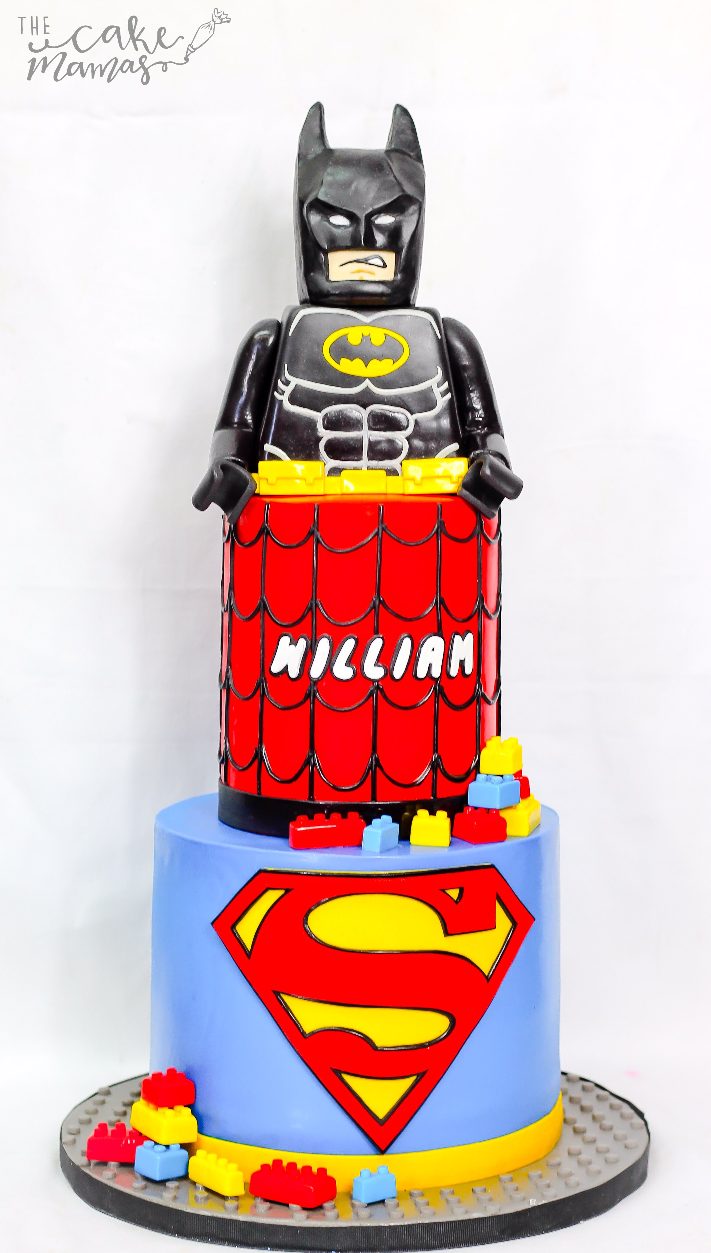 Lego Batman and Superman birthday