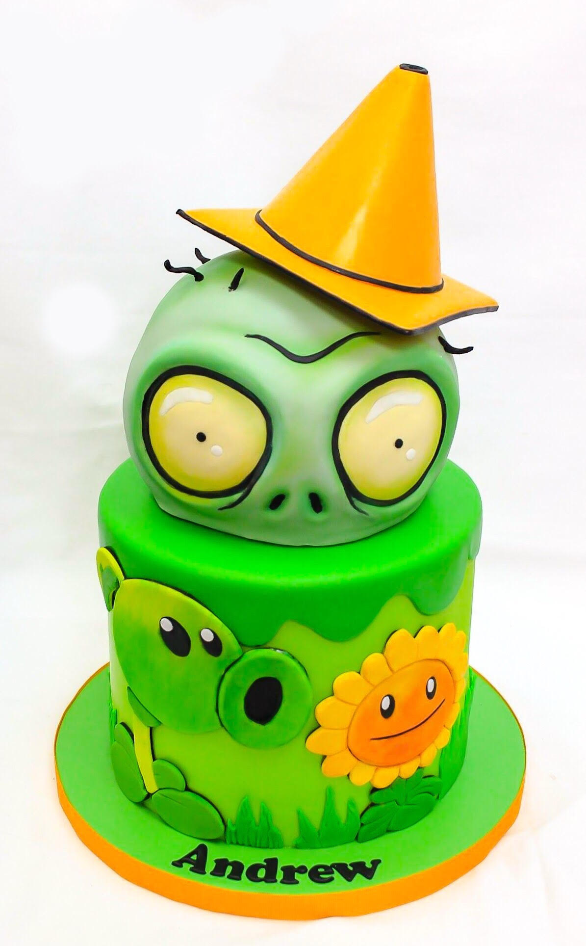 Green Angry Birds birthday