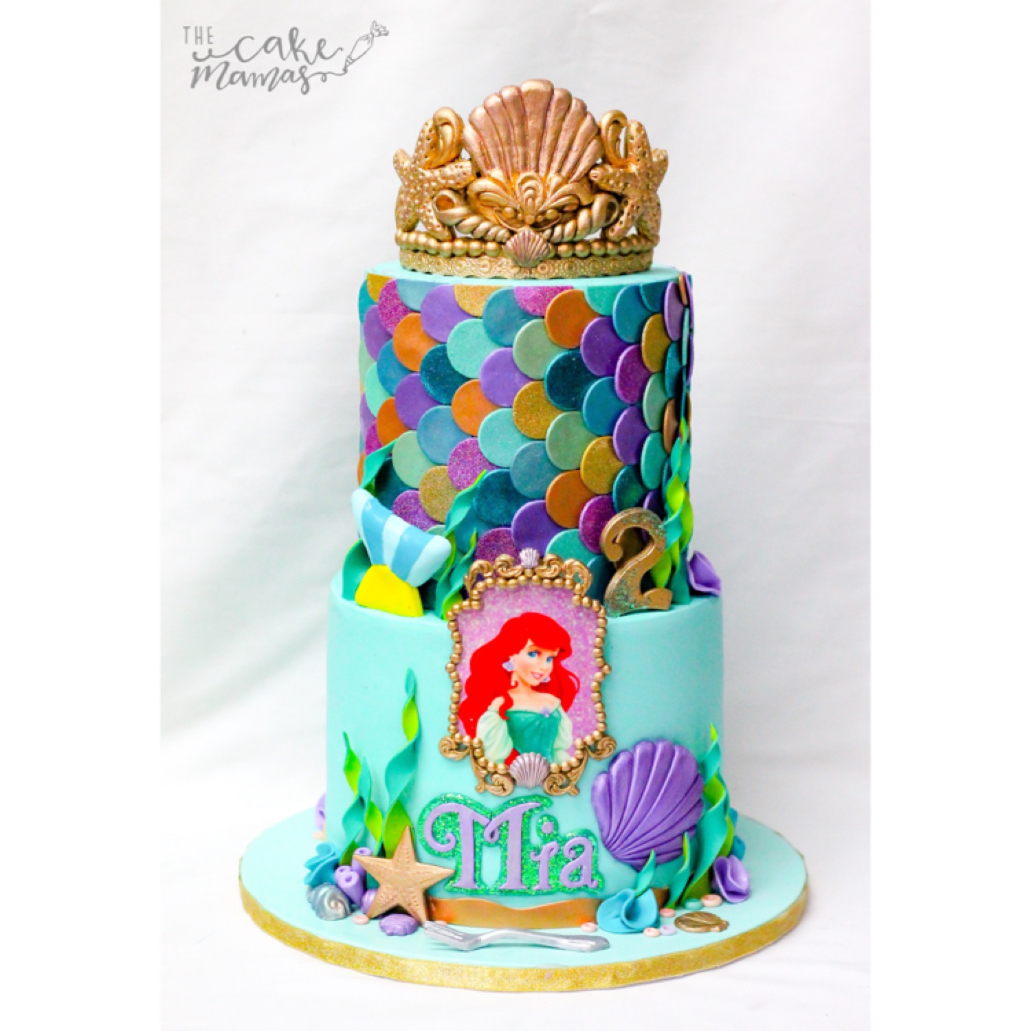 Mermaid princess birthday