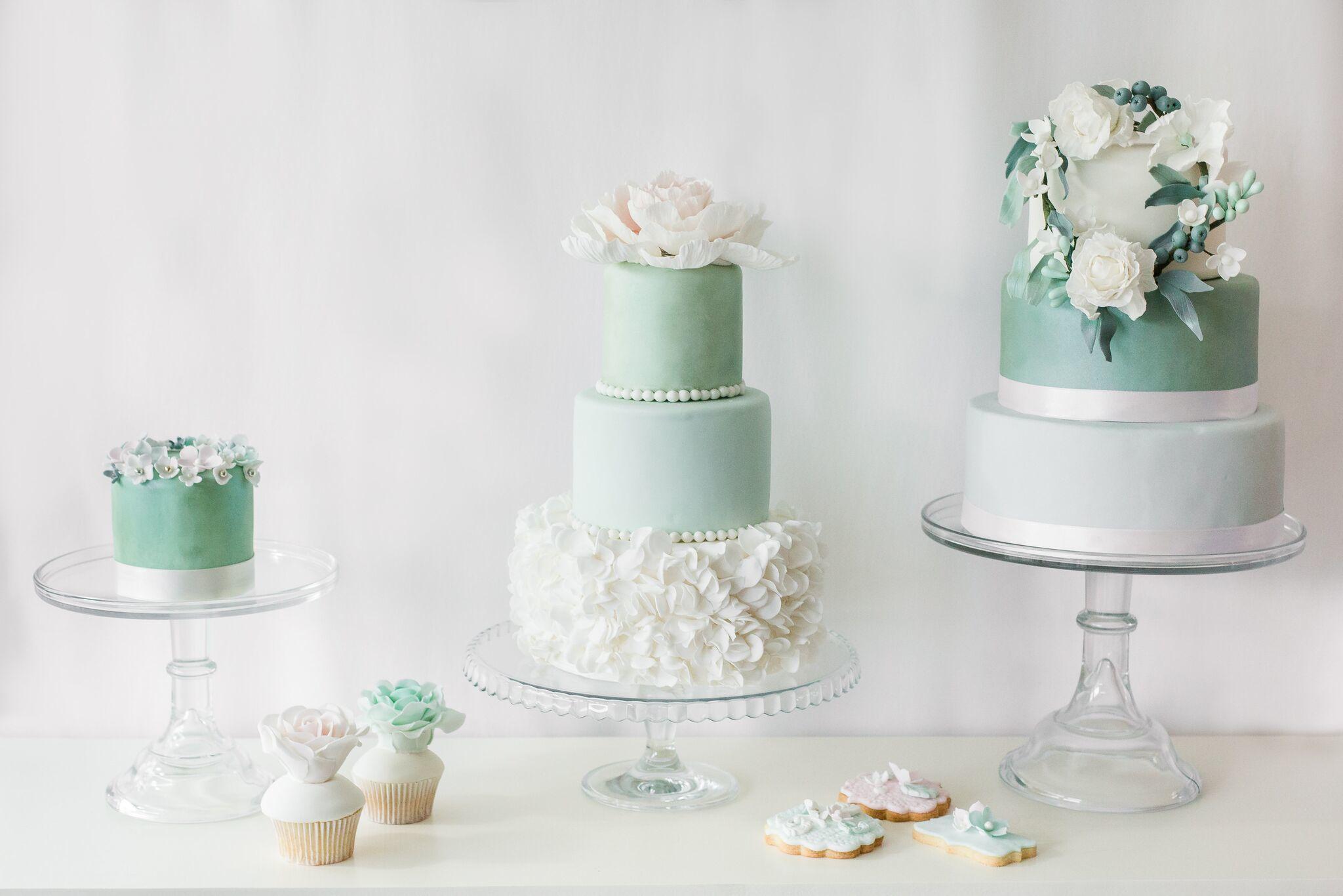 Green & White Wedding