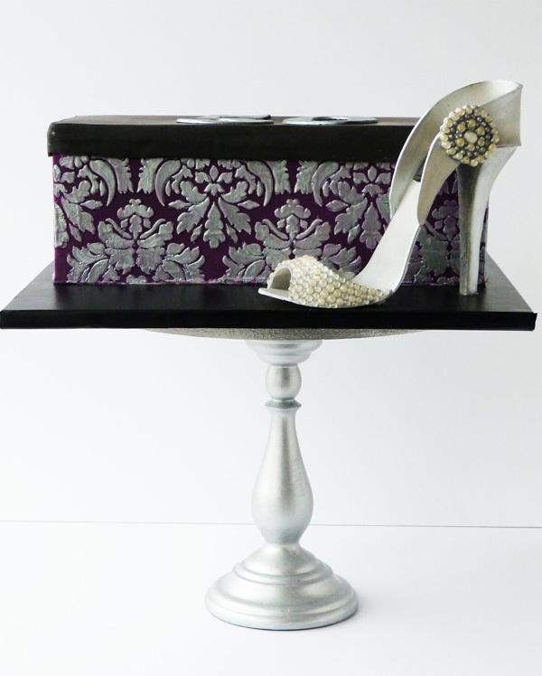 High Heel and Shoe Box