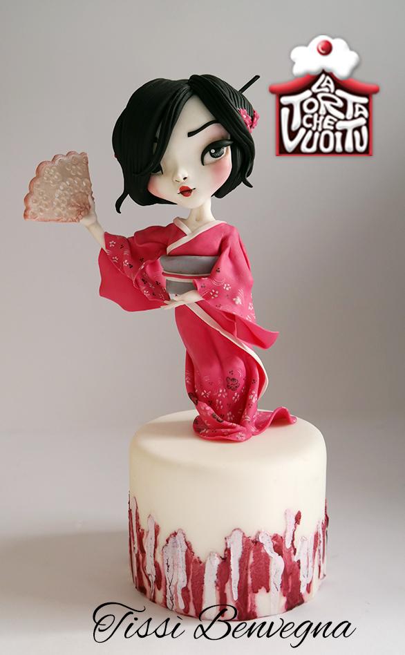 Sculpted Geisha